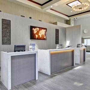 Front Desk - Coast West Edmonton Hotel & Conference Centre