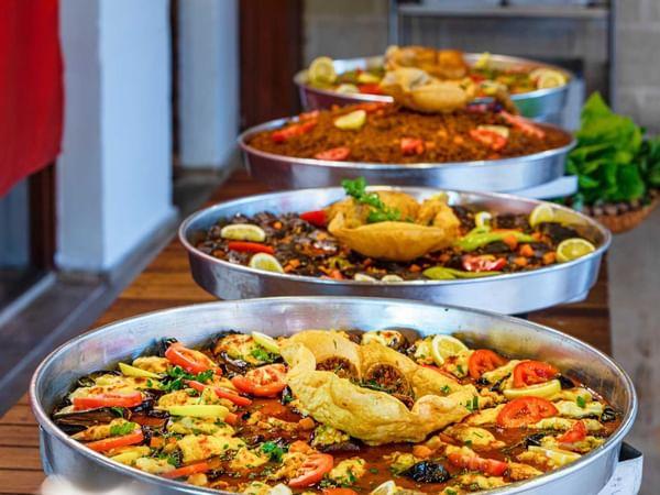 Ассортимент традиционных блюд