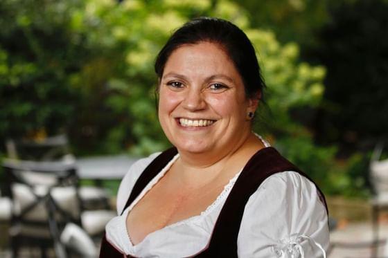 Mitarbeiterin im Hotel München Palace