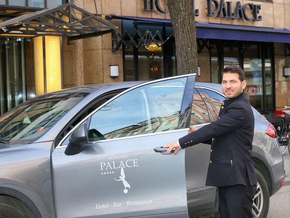 Palace Park Garage im Hotel München Palace