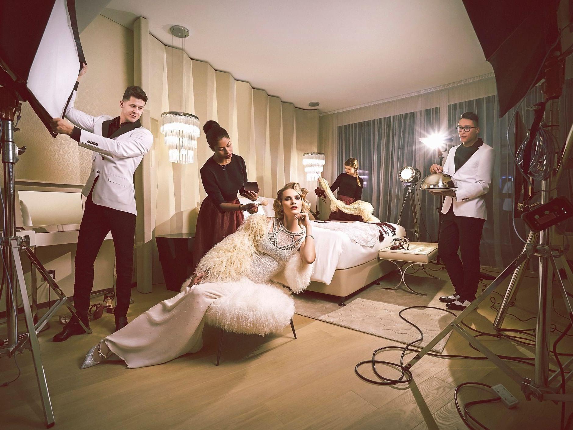 Hollywood Glam Lifestyle at Paramount Hotel Dubai