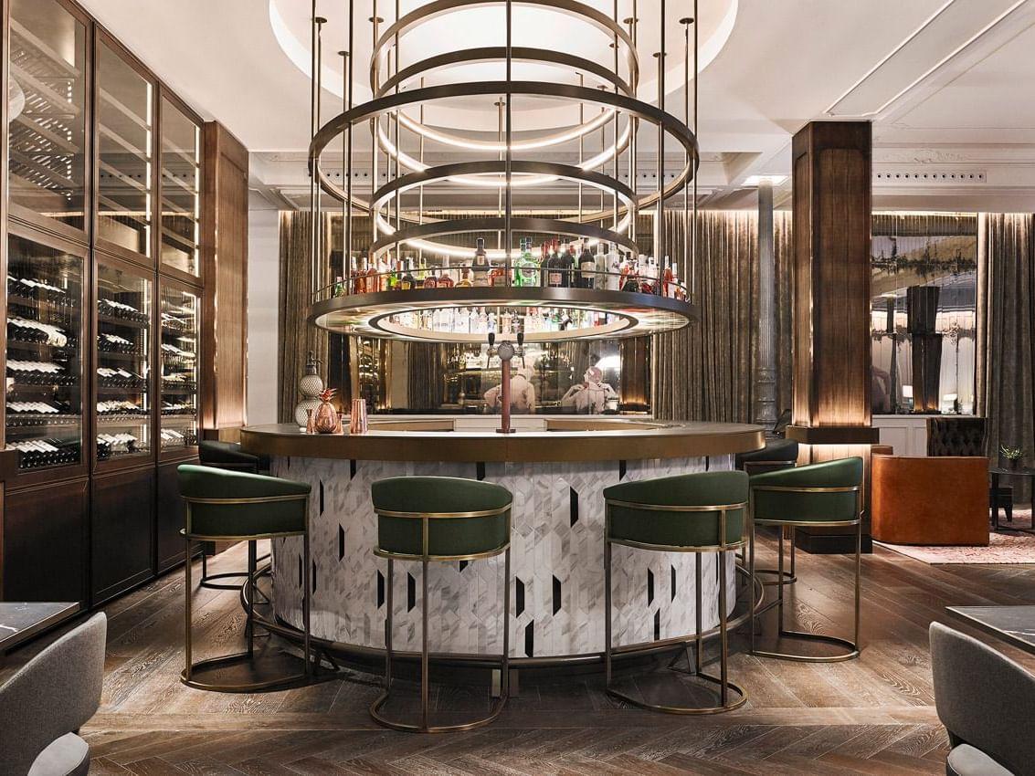 Bar at Gran Hotel Inglés in Madrid