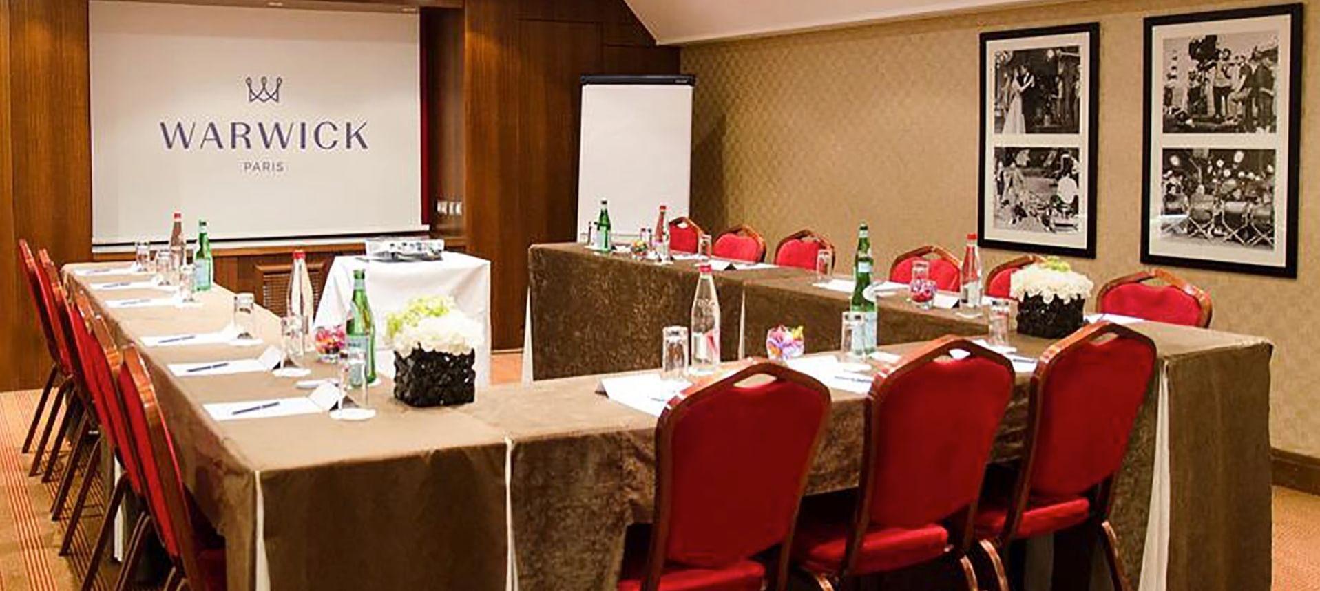 Meeting Room at Warwick Paris