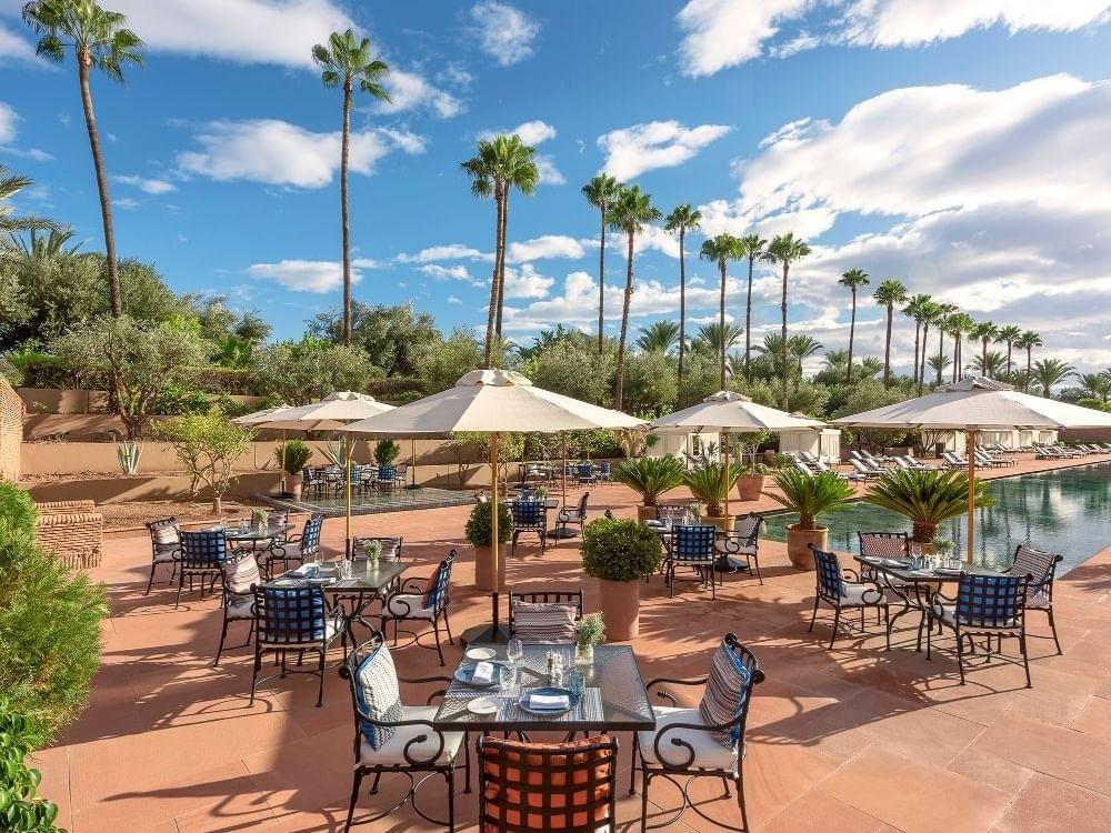 Pool Bar at Selman Marrakech Hotel