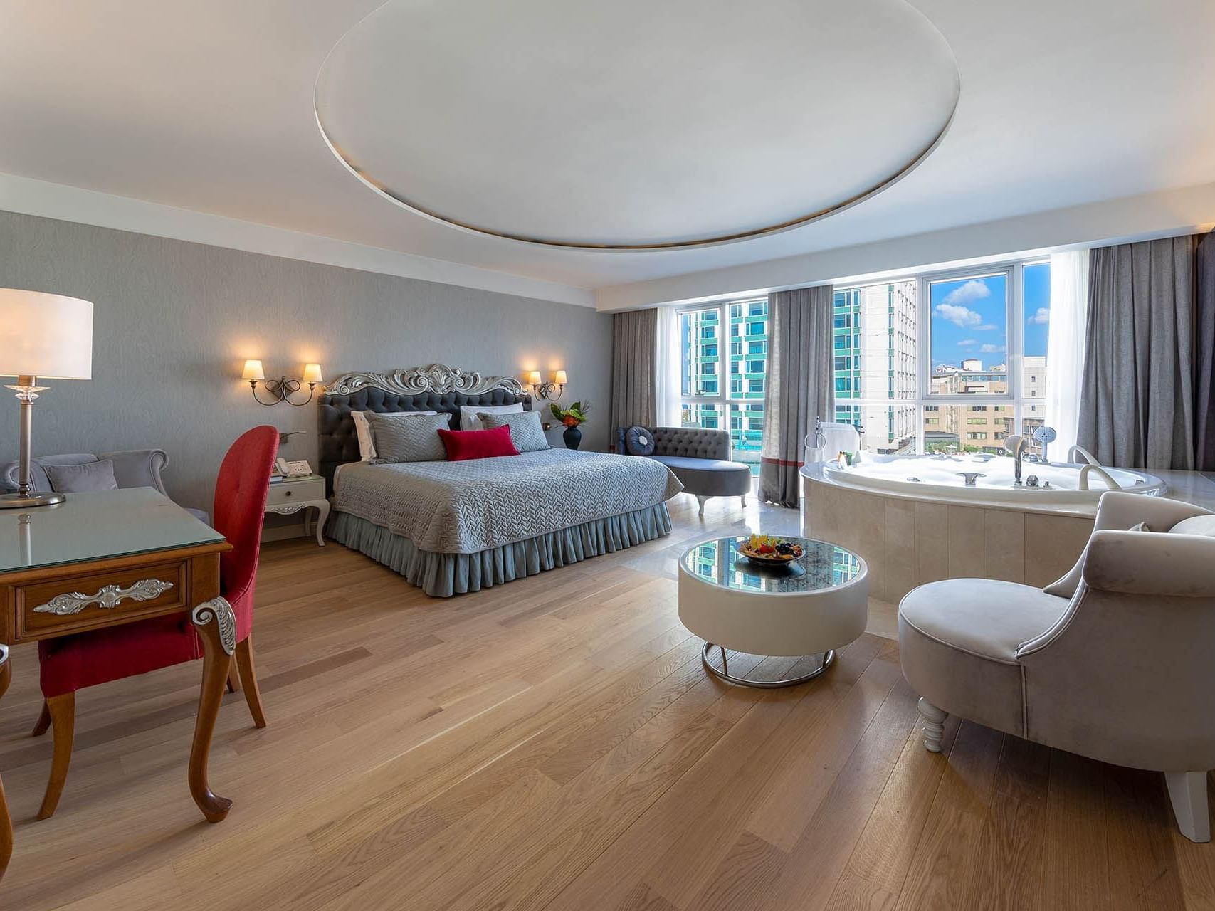 Luxury Suite with one bed at CVK Taksim Hotel Istanbul