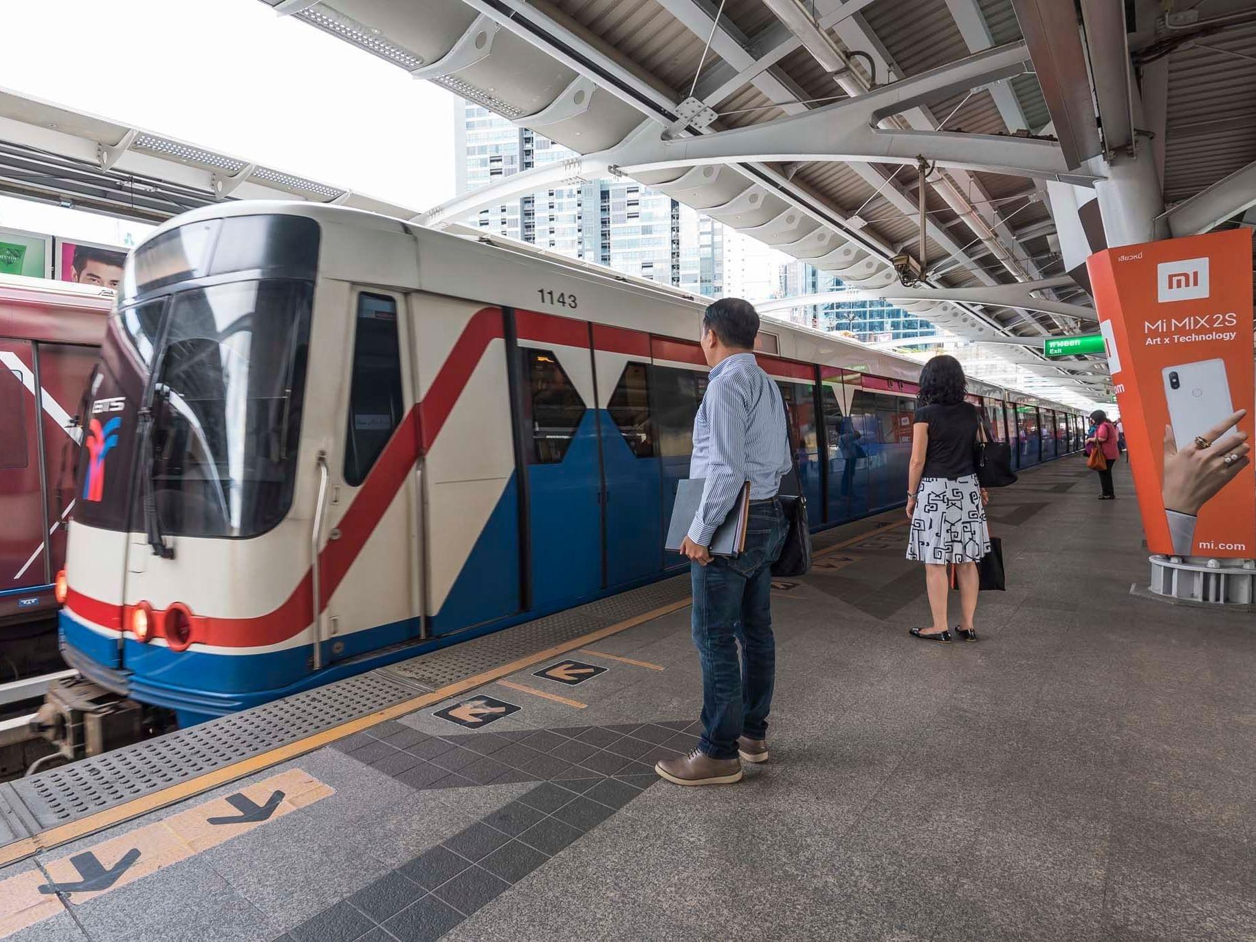 Phrom Phong BTS Station near Chatrium Hotel Riverside Bangkok