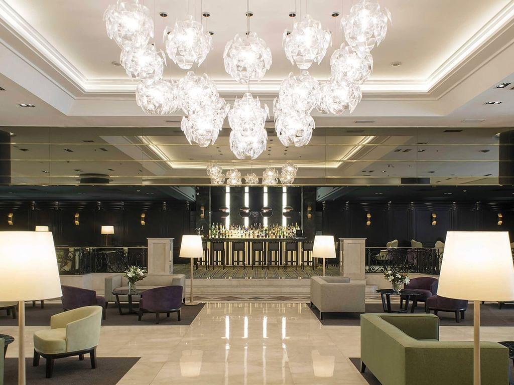 Lobby area at at Hotel Emperador Buenos Aires