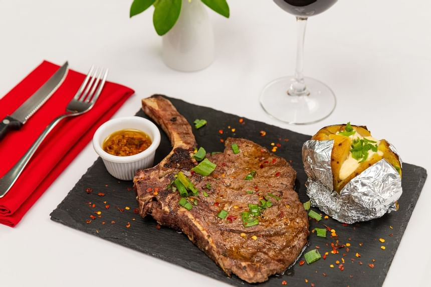 Dining options in restaurants
