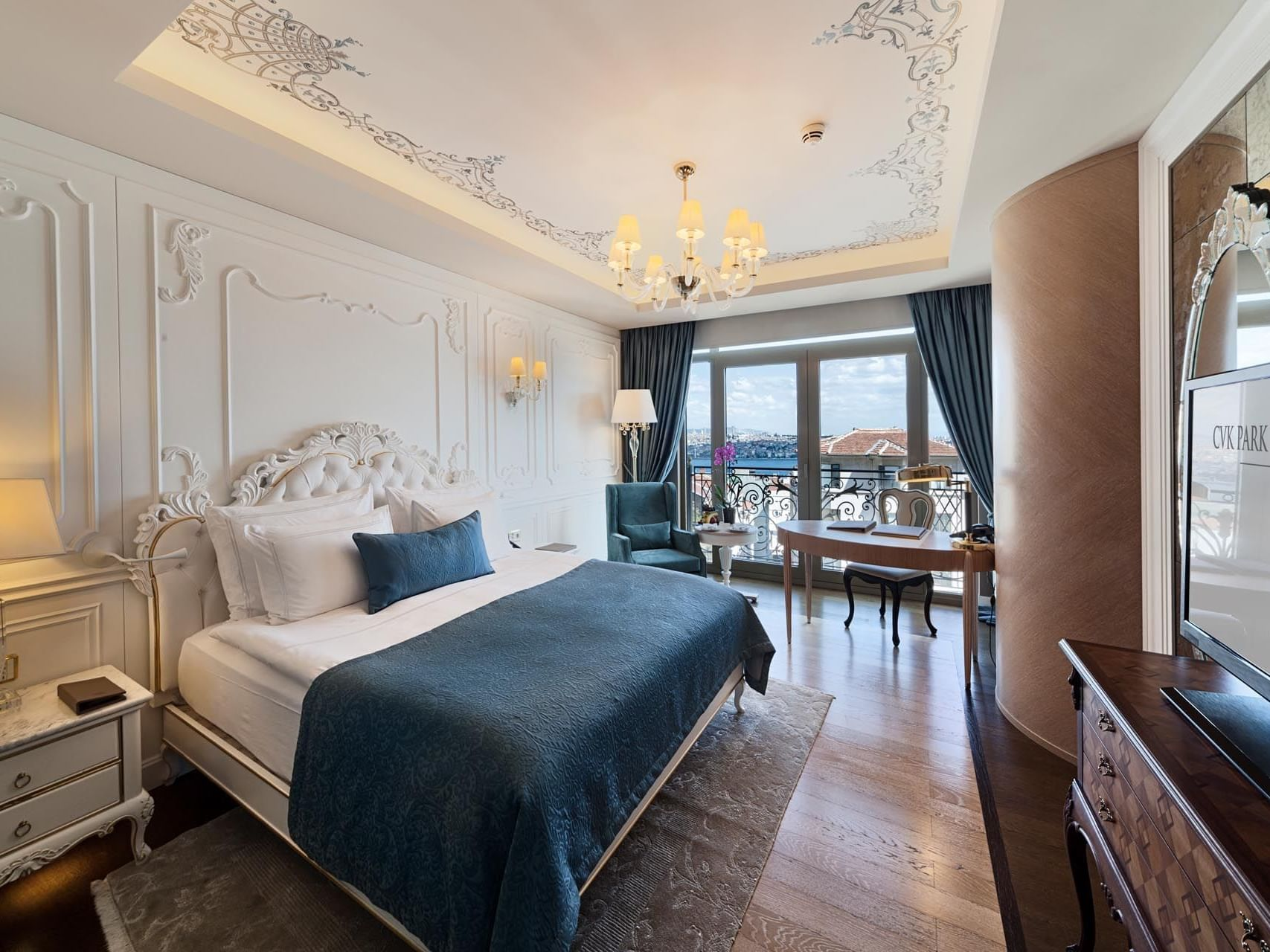 Superior Room with one bed at CVK Park Bosphorus Hotel Istanbul