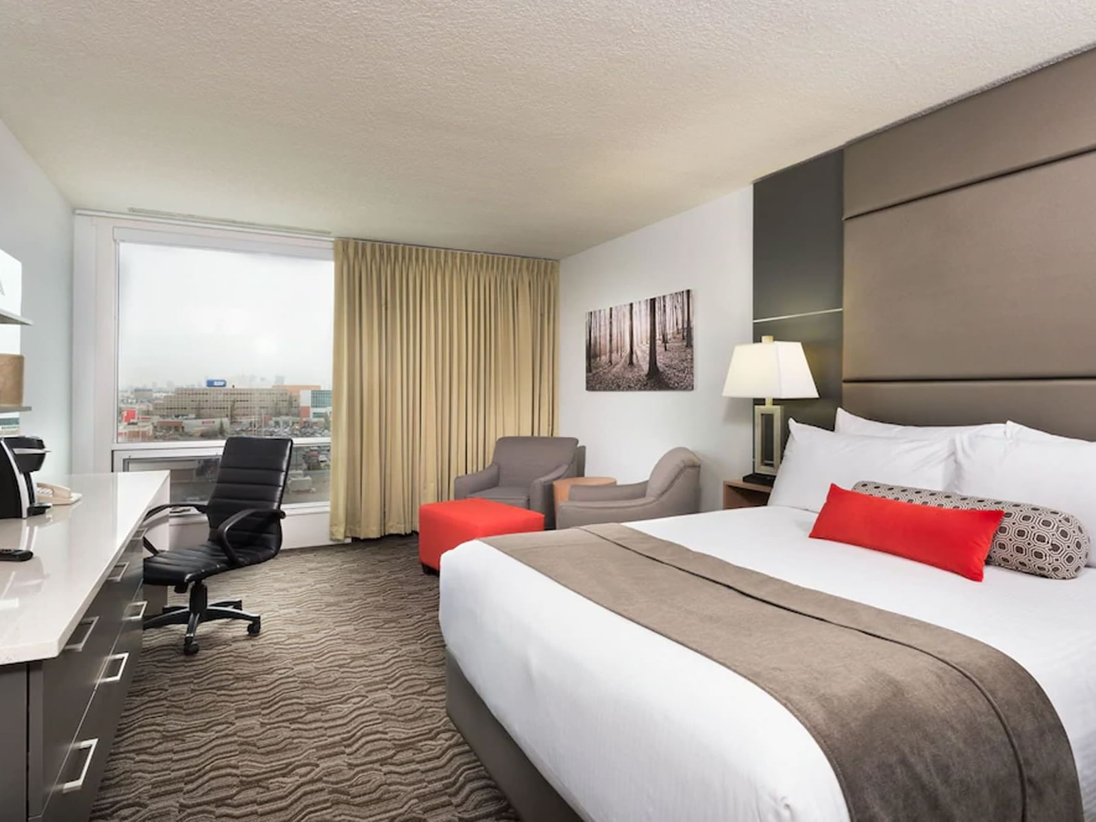 Premium King Room with one bed at Carriage House Hotel