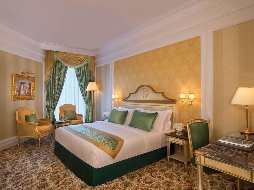 غرفة ديلوكس في فندق رويال روز في أبو ظبي، الإمارات العربية المتحدة