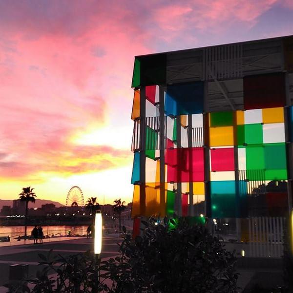 Centre Pompiduo at  Marbella Club