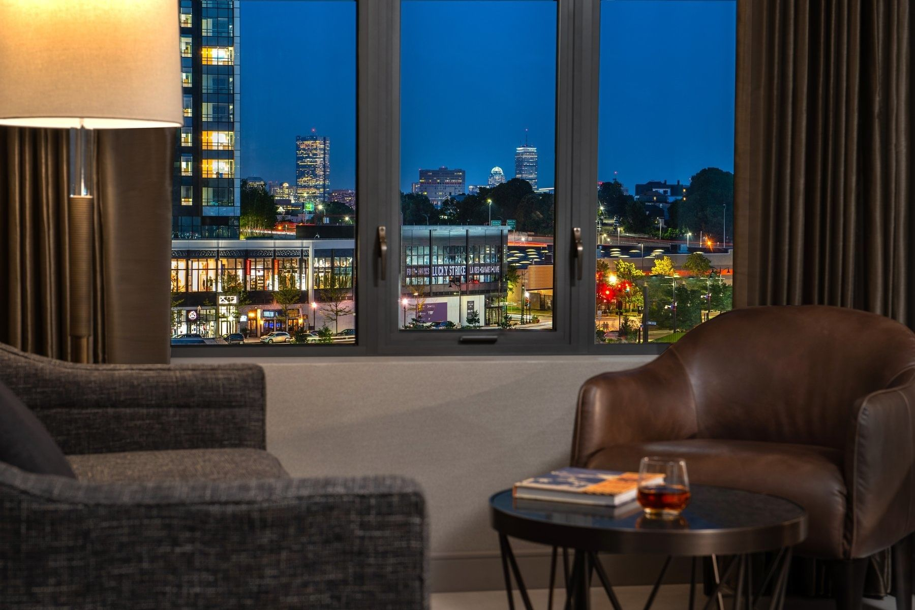 Room with a Cityview