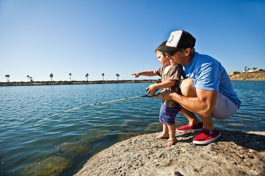 Carlsbad by the sea resort fishing