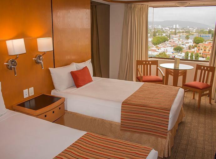 Facility Rooms at Hotels Grupo Guadalajara