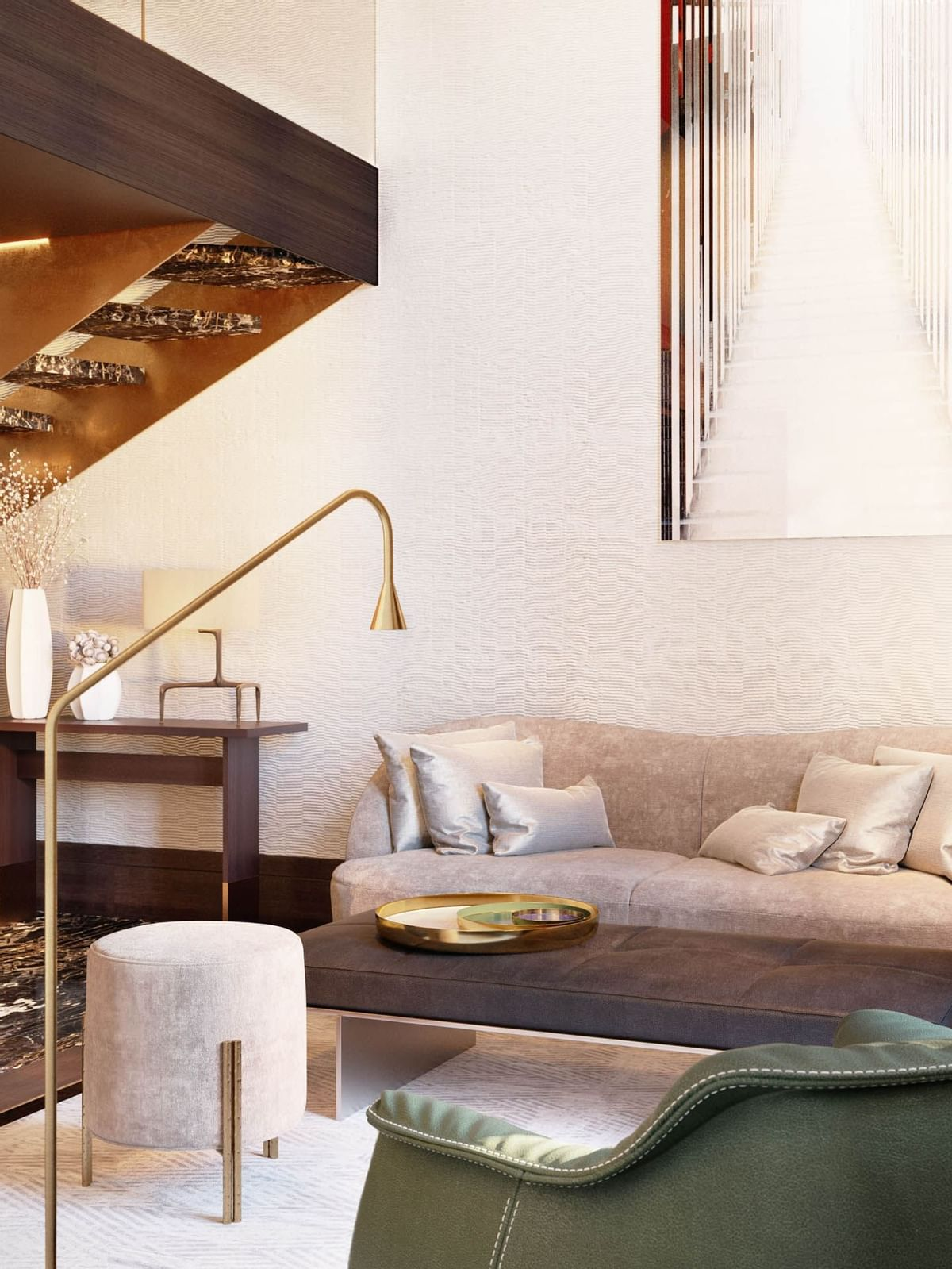 Room sofa at Almanac Vienna
