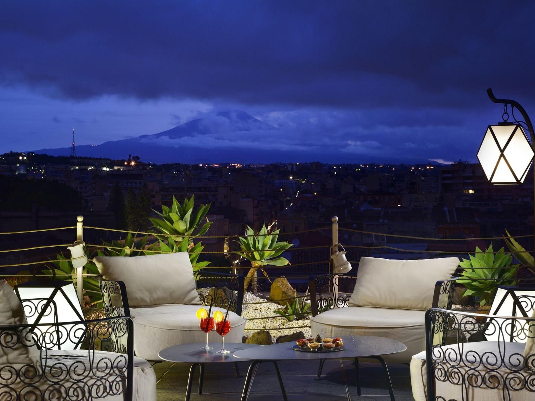 Aperitivo e cena a Catania - Ristorante con terrazza - Etnea Roof Bar & Restaurant by