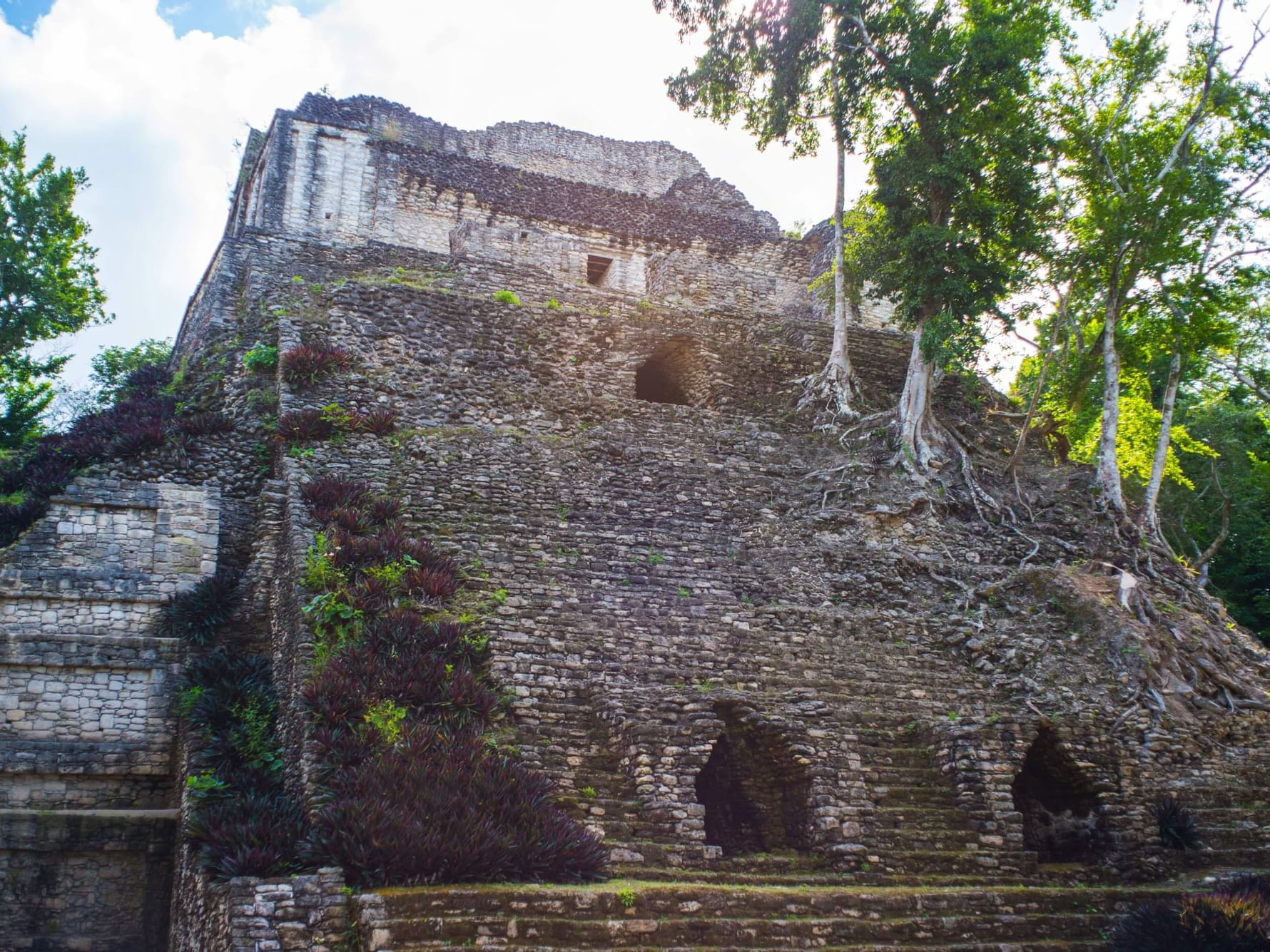Ancient building in the Chetumal - Kohunlich