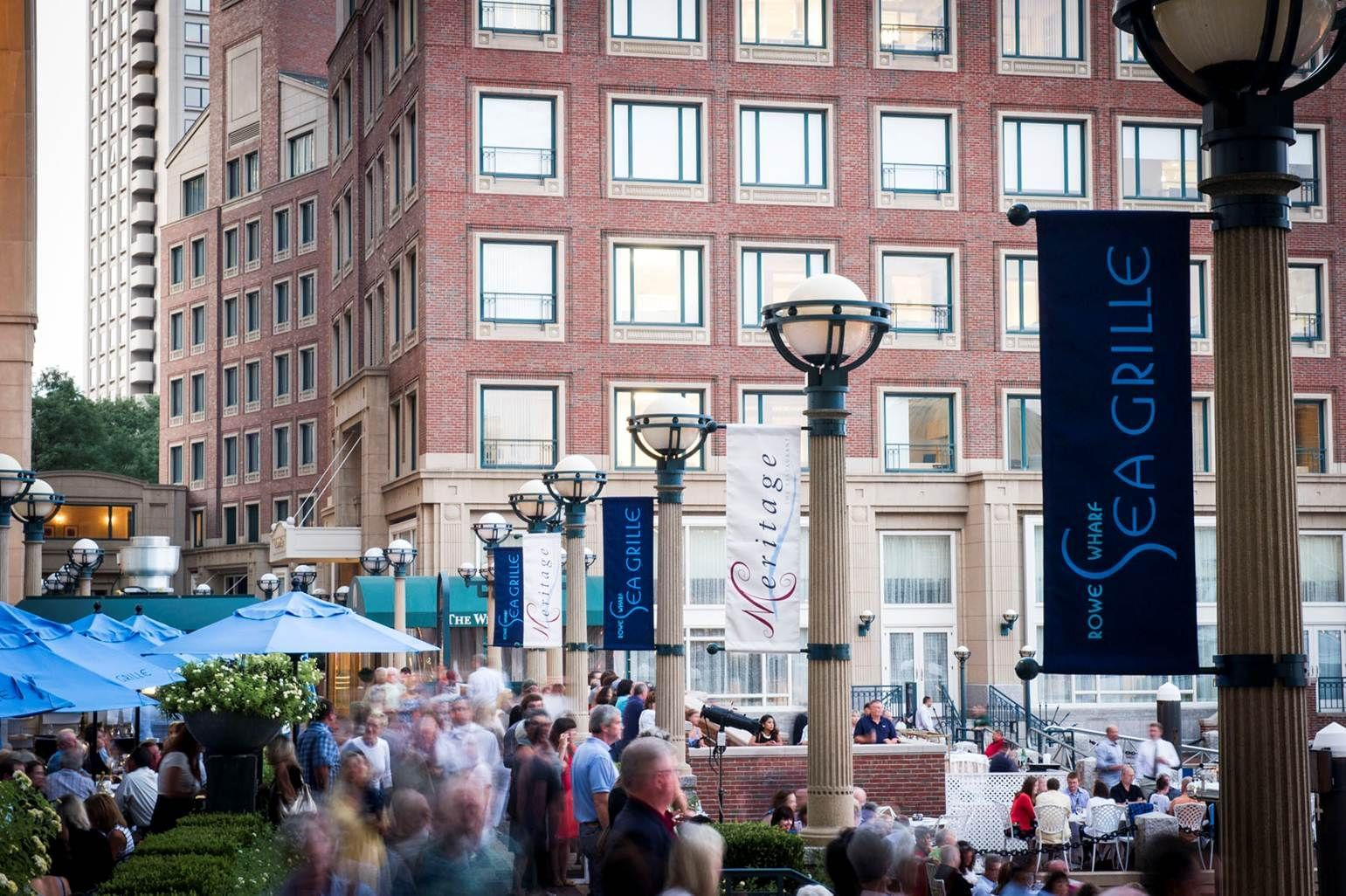 Exterior of Rowes Wharf Sea Grille