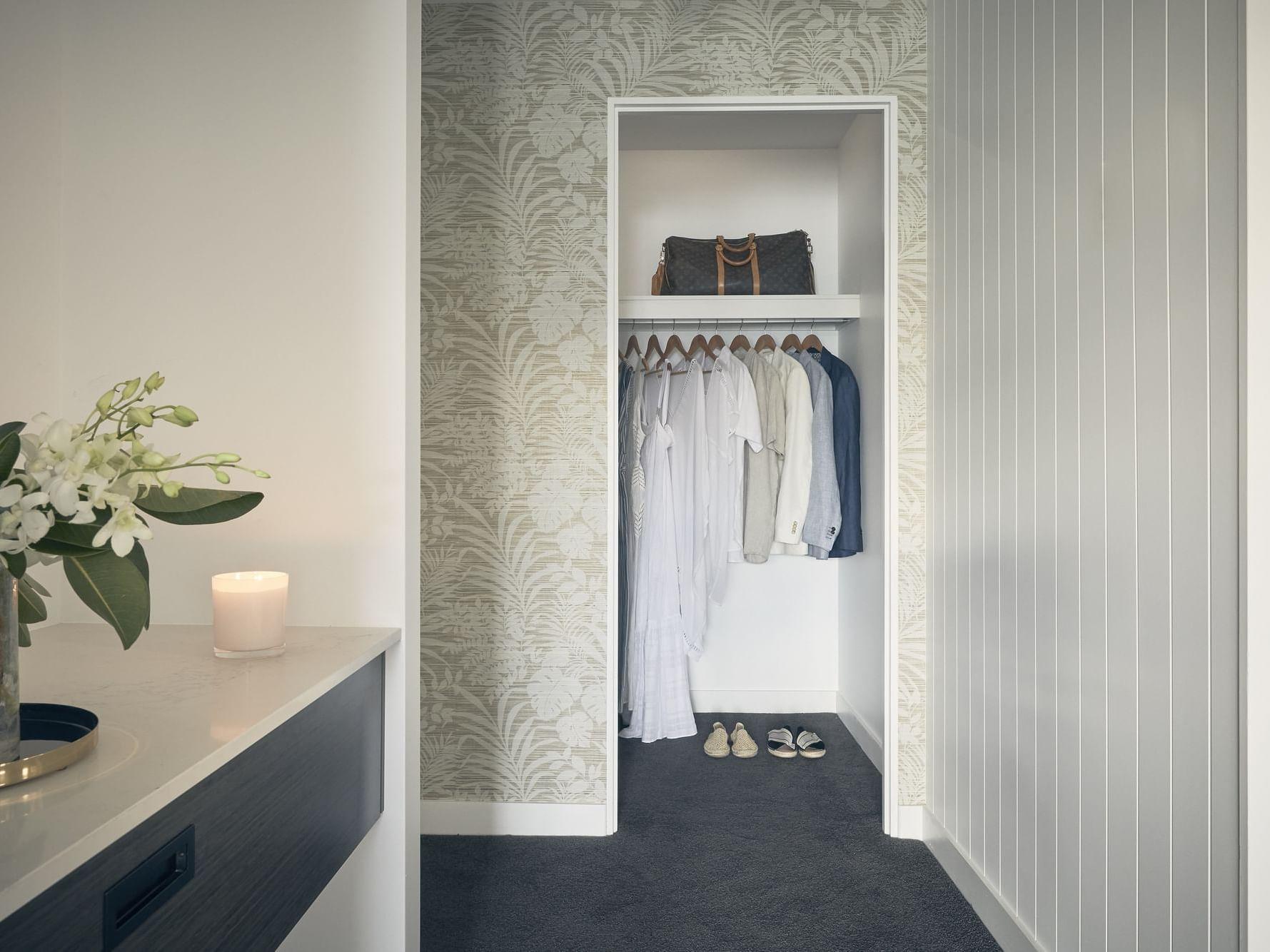 Closet cupboard in Serenity room at Daydream Island Resort