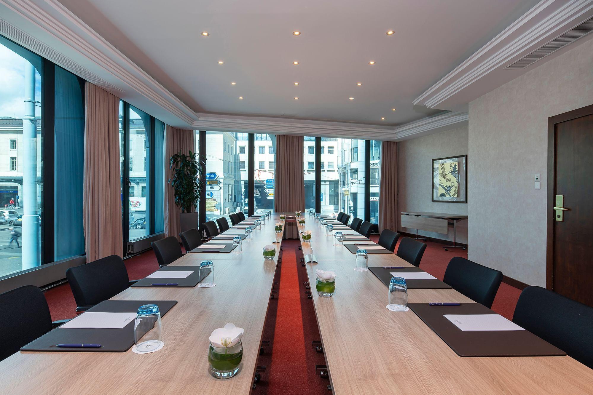 Meeting Room at Warwick Geneva Rigi & Cervin