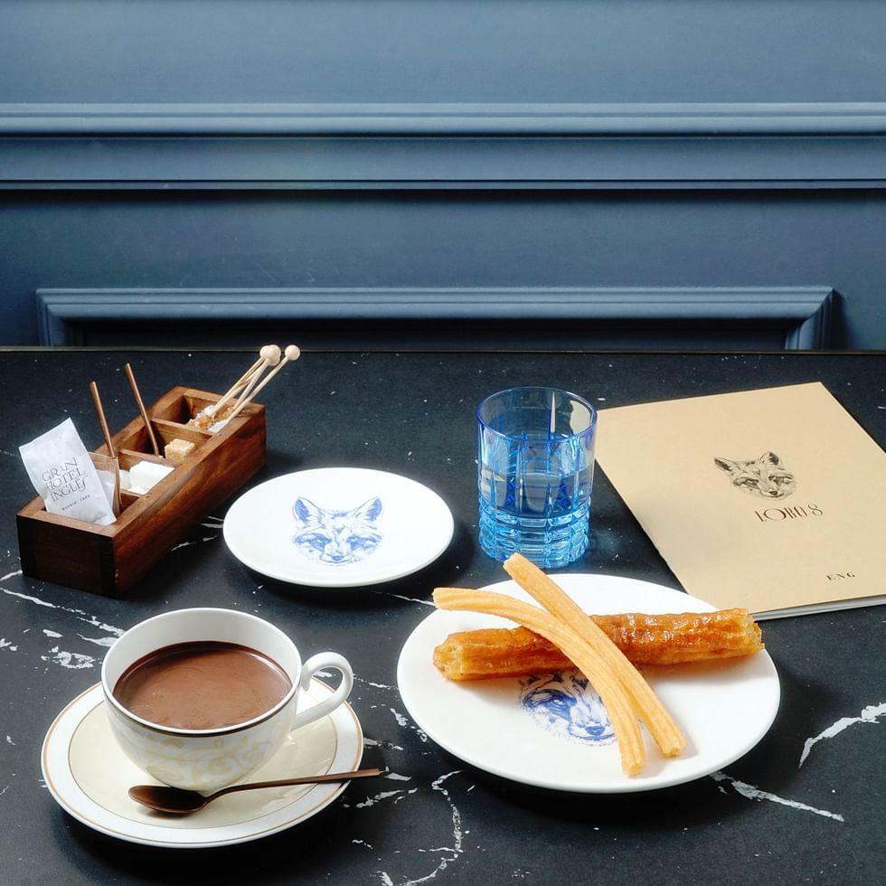 Desayuno en el Gran Hotel Inglés