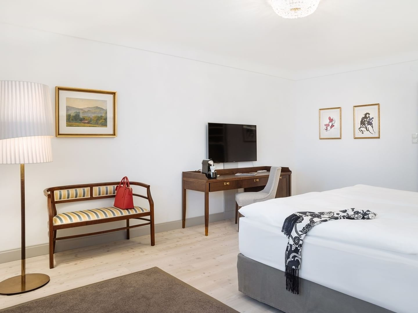 Double Room Deluxe at Schloss Pichlarn Hotel