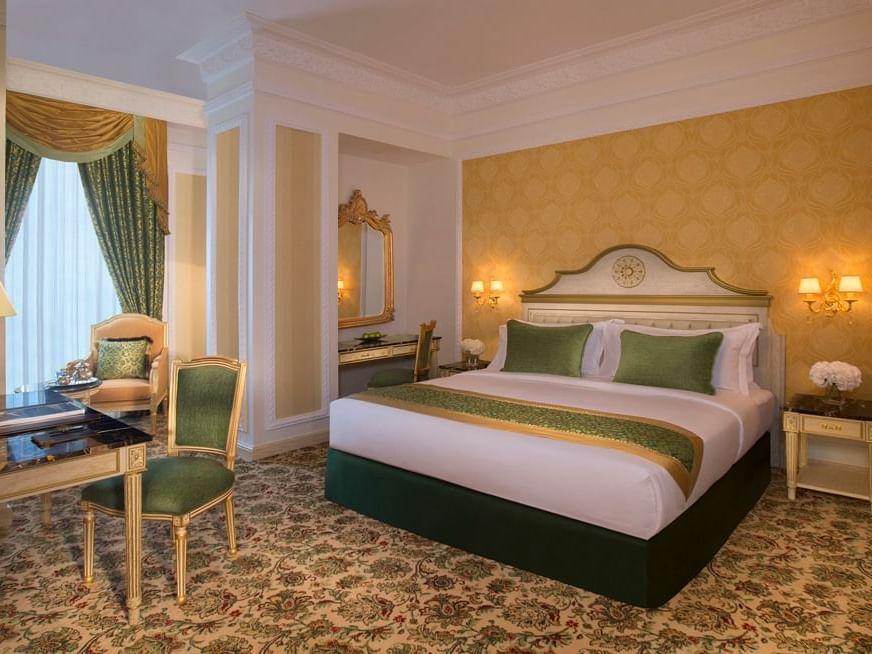 غرفة جراند ديلوكس في فندق رويال روز في أبو ظبي، الإمارات العربية المتحدة