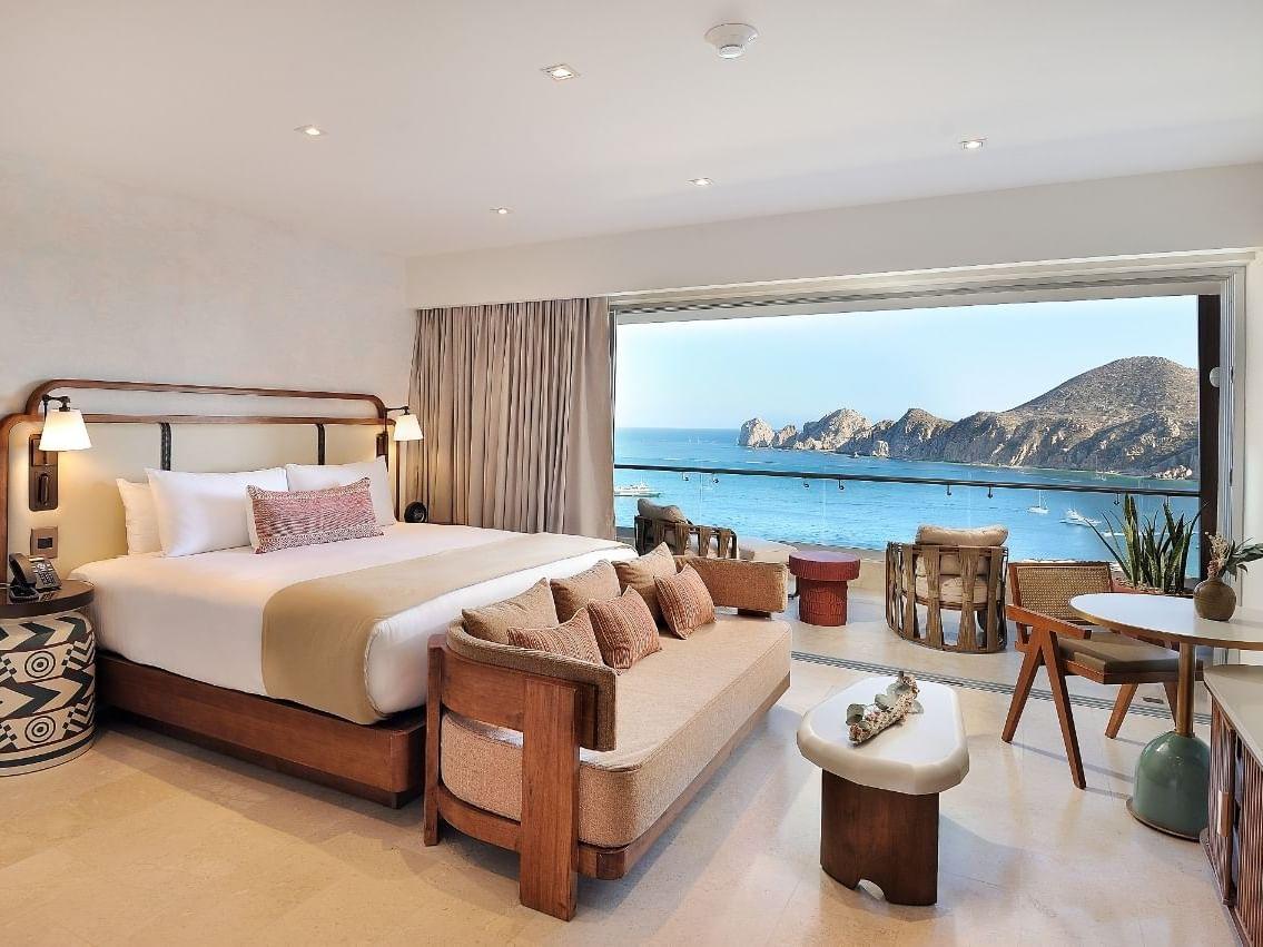Bedroom at Infinity Suite in Cabo Villas Beach Resort