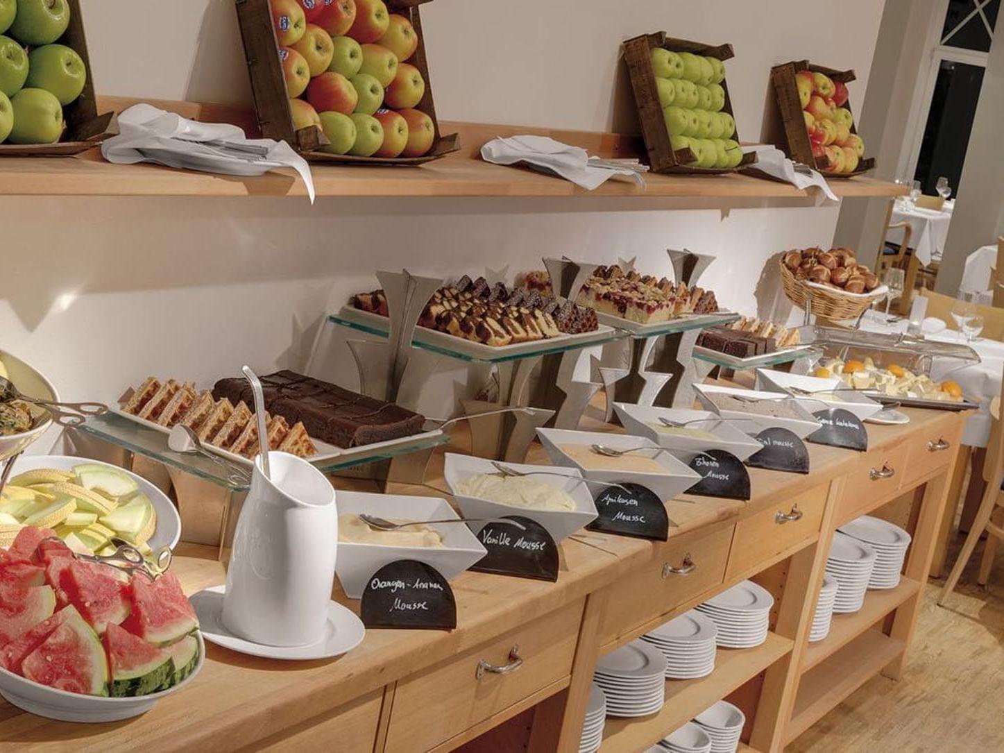 breakfast at Precise Resort Marina Wolfsbruch