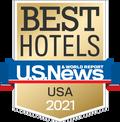 Best of Hotels USA 2021 Award Logo
