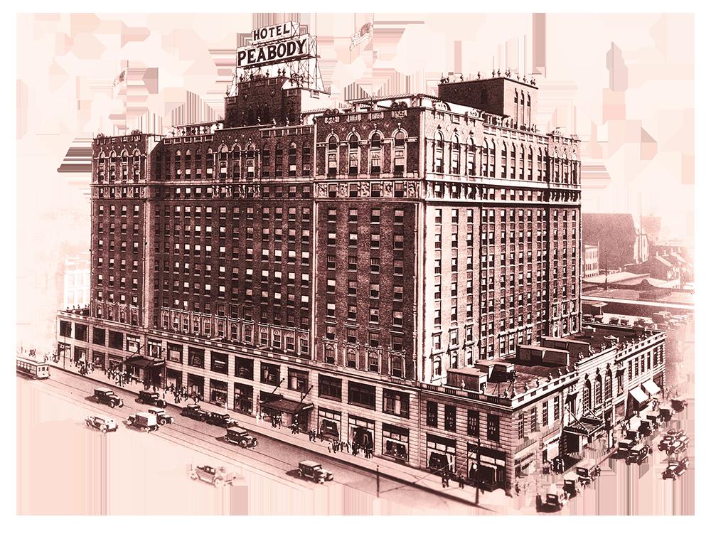 1925 The Peabody Memphis Exterior