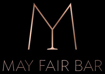 Logo with caption of May Fair Bar at The May Fair Hotel London