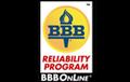 BBB Reliability Program logo