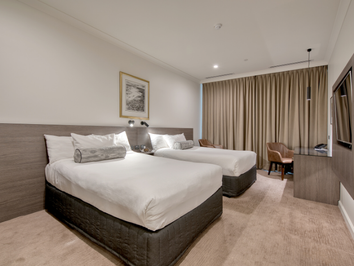 A view of Deluxe Twin Room  in Duxton Hotel Perth