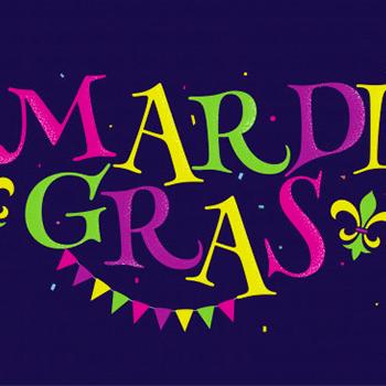 Mardi Gras at Universal Orlando logo