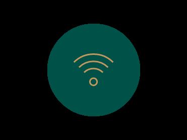 Icon of free Wi-Fi at Bogotá Plaza Hotel