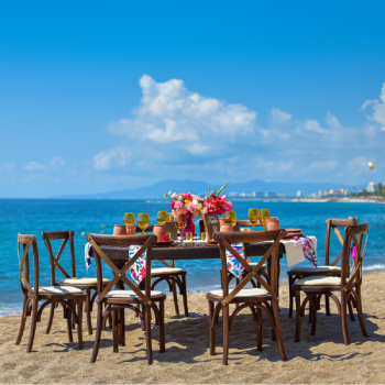 enjoy and sitting table at Sunset Plaza Beach Resort