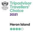 TripAdvisor Award - Heron Island Resort in Queensland, Australia