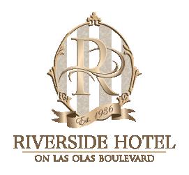 logo of riverside hotel