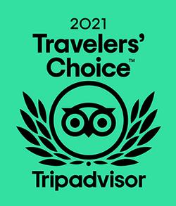 Trip Advisor Travelers choice 2021 Logo
