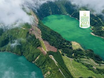 Açores eleito como destino seguro para férias em 2021