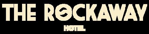 The Rockaway Hotel cream logo