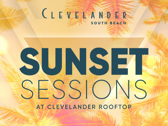 Sunset sessions at Essex House by Clevelander poster