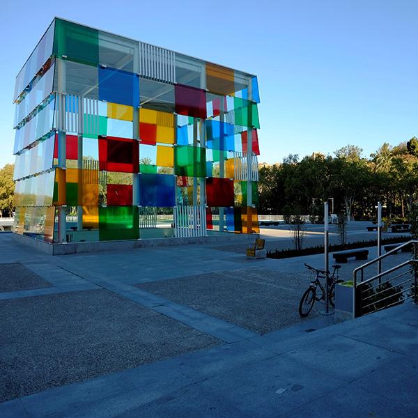 Centre Pompiduo Malaga at  Marbella Club