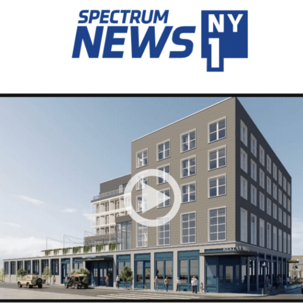 Article about A New Hotel in Rockaway in Spectrum News 1