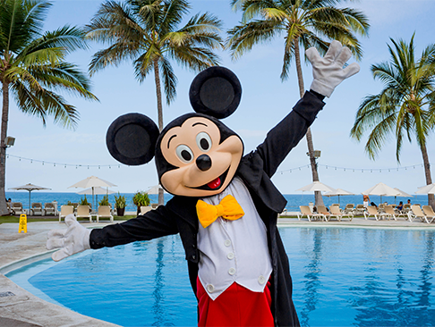 mickey mouse club de playa at Plaza Pelicanos Club Beach Resort