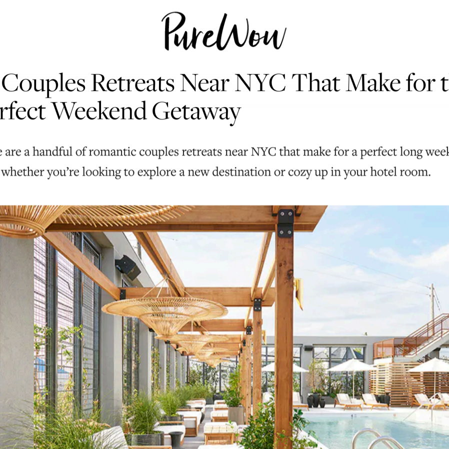 Article about Rockaway Hotel in Purewow by Hannah Loewentheil