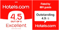 Hotels.com Excellence Rating logo