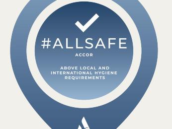 Allsafe Logo at Pullman Bunker Bay Resort